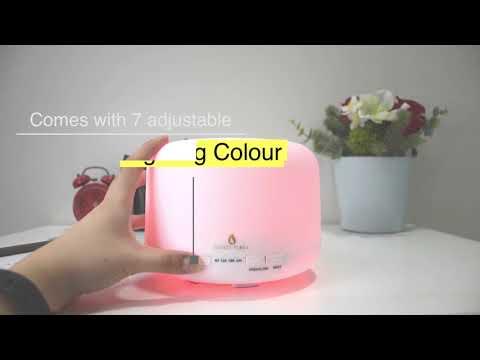 Secret Flora Aromatherapy Ultrasonic Mist Diffuser