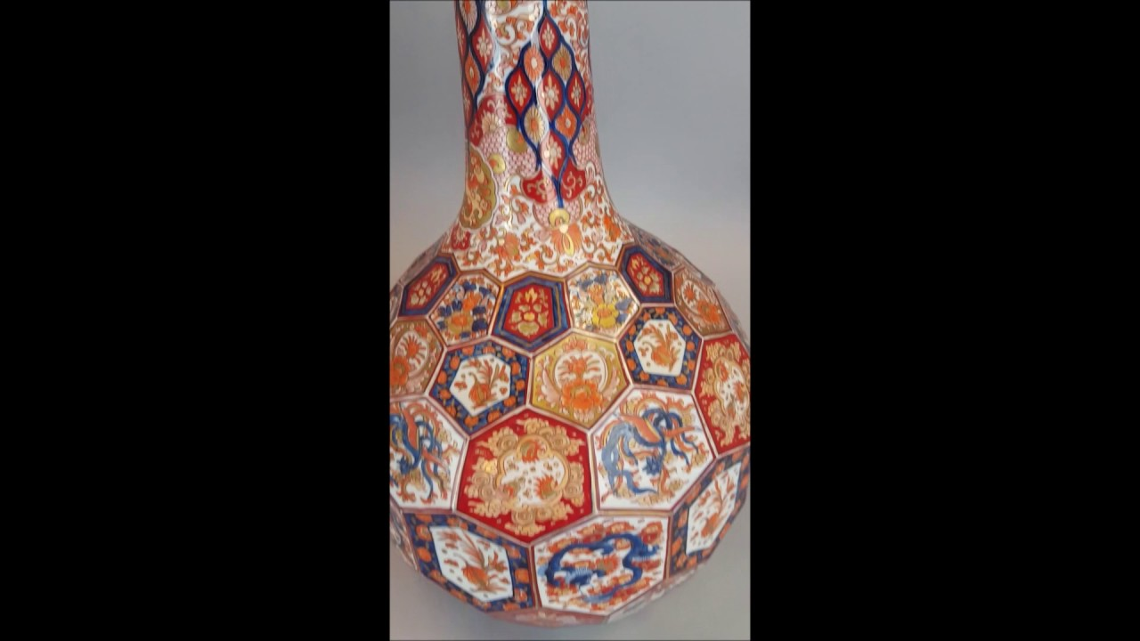 Bobs best 3 japanese antique porcelain imari vase youtube bobs best 3 japanese antique porcelain imari vase reviewsmspy