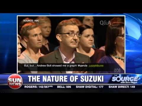 The nature of David Suzuki