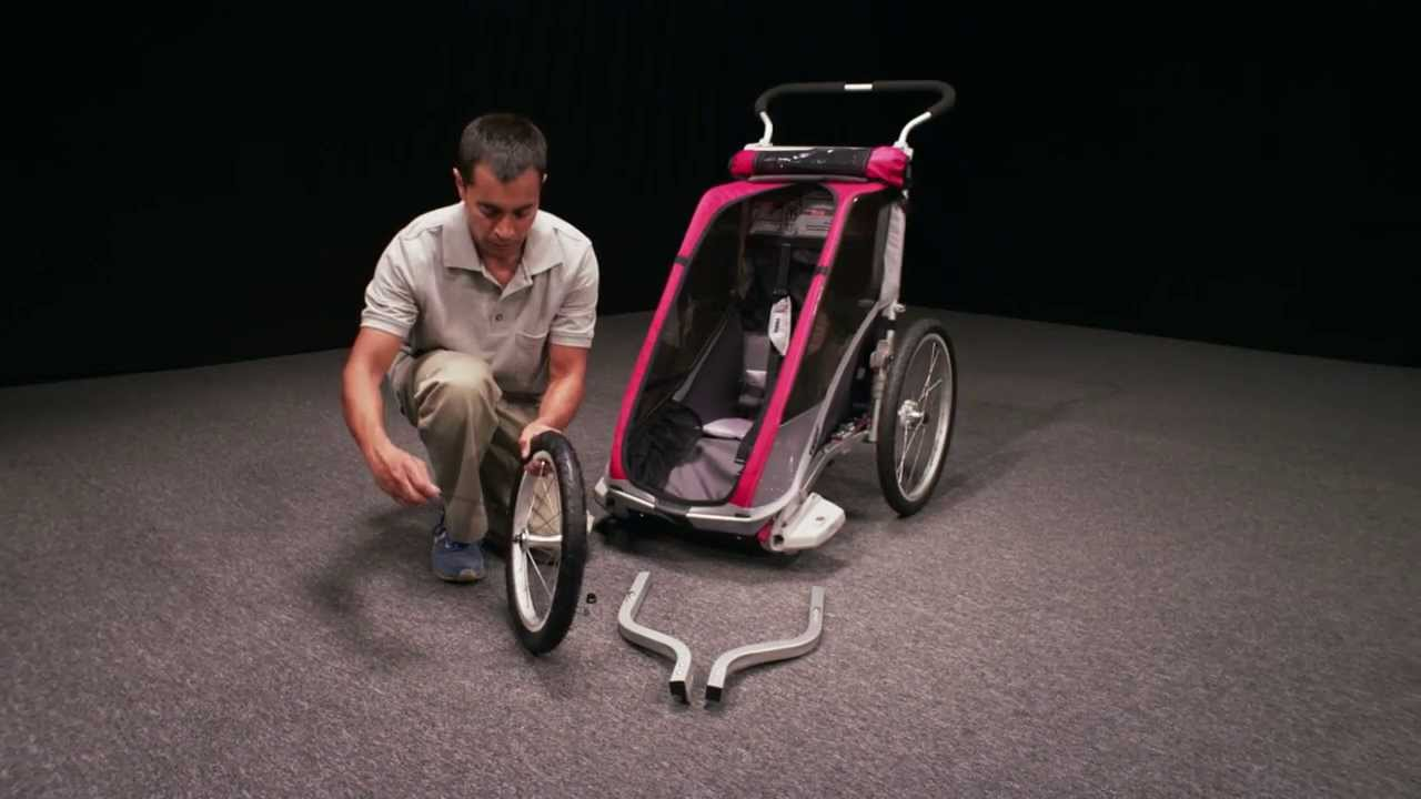 thule chariot jogging set youtube. Black Bedroom Furniture Sets. Home Design Ideas