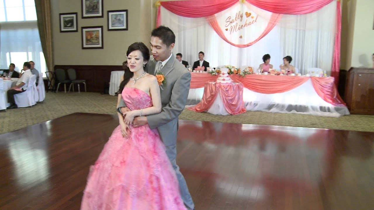 A Funny First Dance - A Chinese Wedding Video Recorded by ...