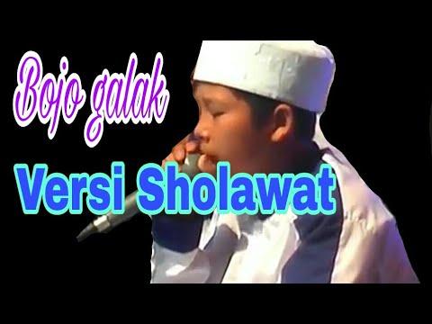 terbaru bojo galak new versi sholawat bhs indo full lirik