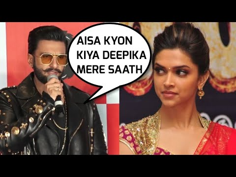 Ranveer Singh VERY UPSET With Deepika Padukone, Watch Why