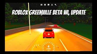 Roblox Greenville Beta WI, Mise à jour