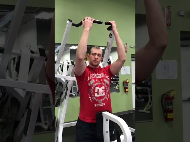 Hammer Strength Lateral Pull Down