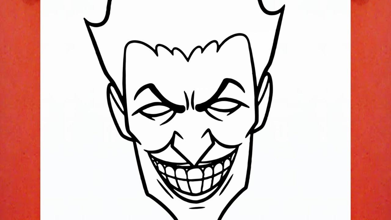Comment dessiner joker youtube - Comment dessiner joker ...