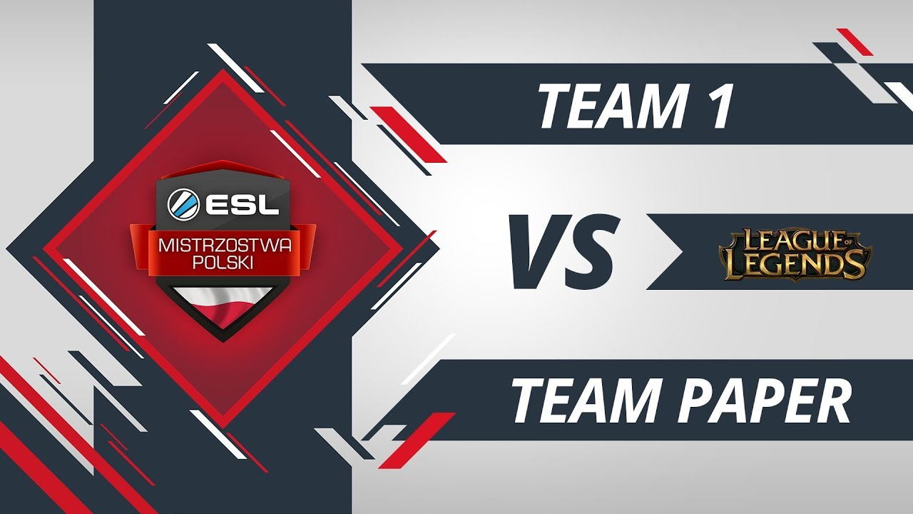 Team Paper vs Team 1 | EMP LoL W3D1 Gra #1
