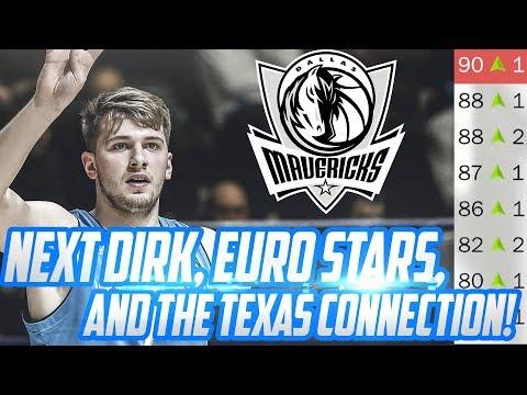 DONCIC & JORDAN! Dallas Mavericks Rebuild! NBA 2K18