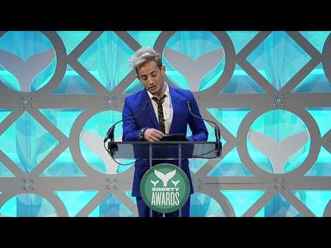 The Late Late Show with James Corden accepts the Shorty Award for Best TV Show