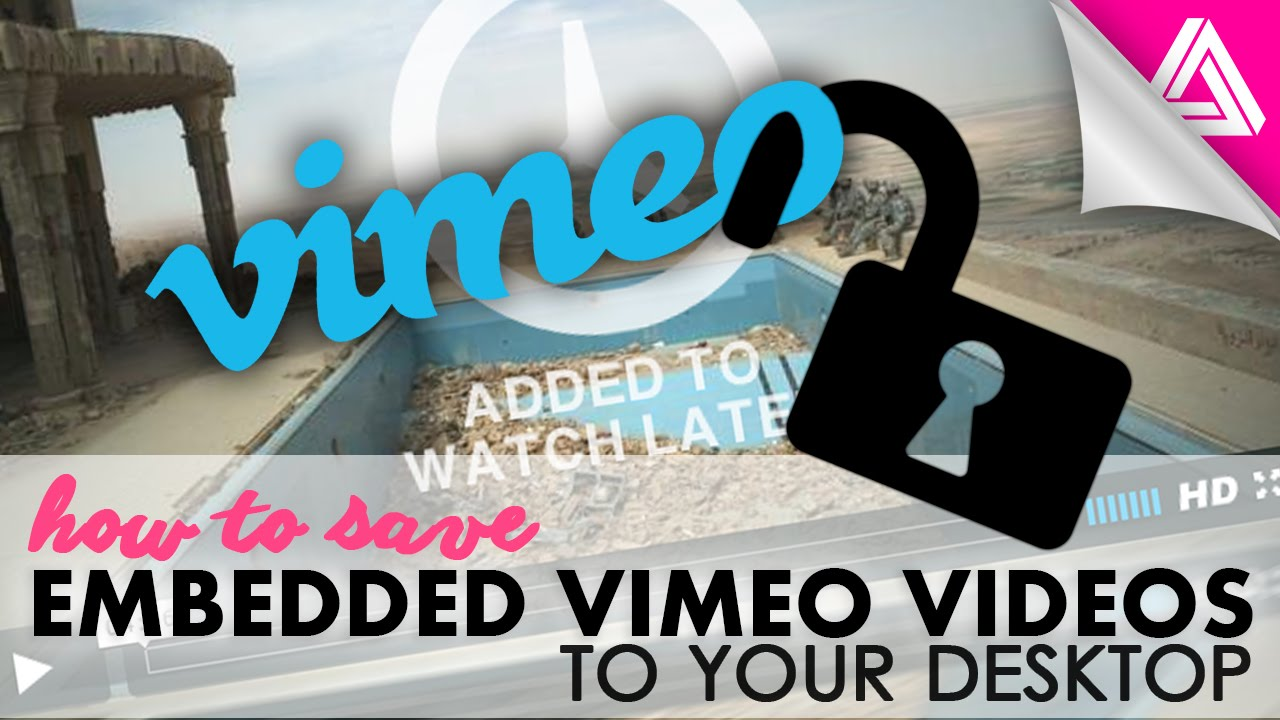 how to save a youtube video to iphone how to save an embedded vimeo to your computer 1118