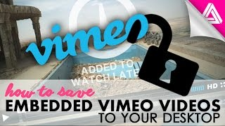 Video How to Save An Embedded Vimeo Video to Your Computer download MP3, 3GP, MP4, WEBM, AVI, FLV Oktober 2018