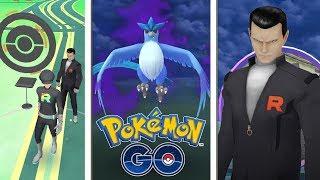 ¡COMBATE contra LÍDER GIOVANNI del Team GO Rocket! CAPTURO ARTICUNO OSCURO en Pokémon GO! [Keibron]