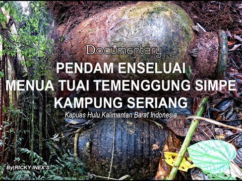 PENDAM IBAN (Pendam Enseluai)- Documentary the sacred graves of Iban Tribes