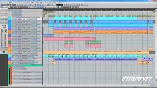 Singer Song Writer Lite9を使った、簡単な曲作りを紹介 右下の設定から...