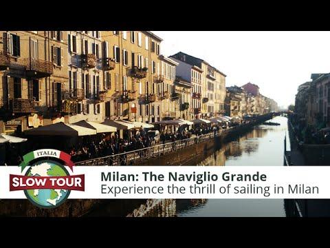 Milan: The Naviglio Grande   Italia Slow Tour