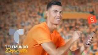Cristiano Ronaldo y el comercial más gracioso de su carrera   Telemundo Deportes