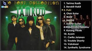 Jamrud - the best collection | full album 1999 # song list 14 track(s): 1. terima kasih 00:00 2. berakit-rakit 04:59 3. putri 08:54 4. otak kotor 12:52 5. ma...