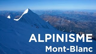 Mont-Blanc voie normale Refuge du Goûter sommet alpinisme - 9202