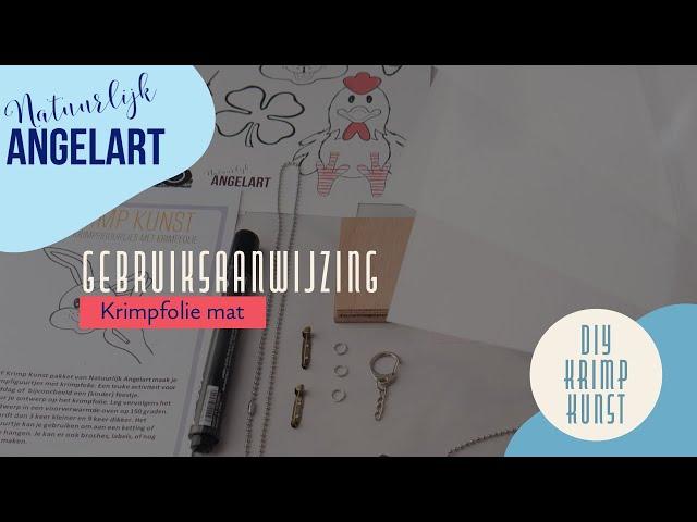 krimpie dinkie DIY Krimp Kunst gebruiksaanwijzing