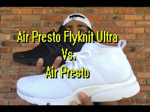 low priced 409bf d3926 Nike Ultra Air Presto Flyknit Unboxing   Review - YT