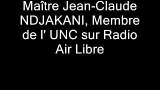 UNC sur RADIO AIR LIBRE avec JC NDJAKANI 2EME Partie.wmv