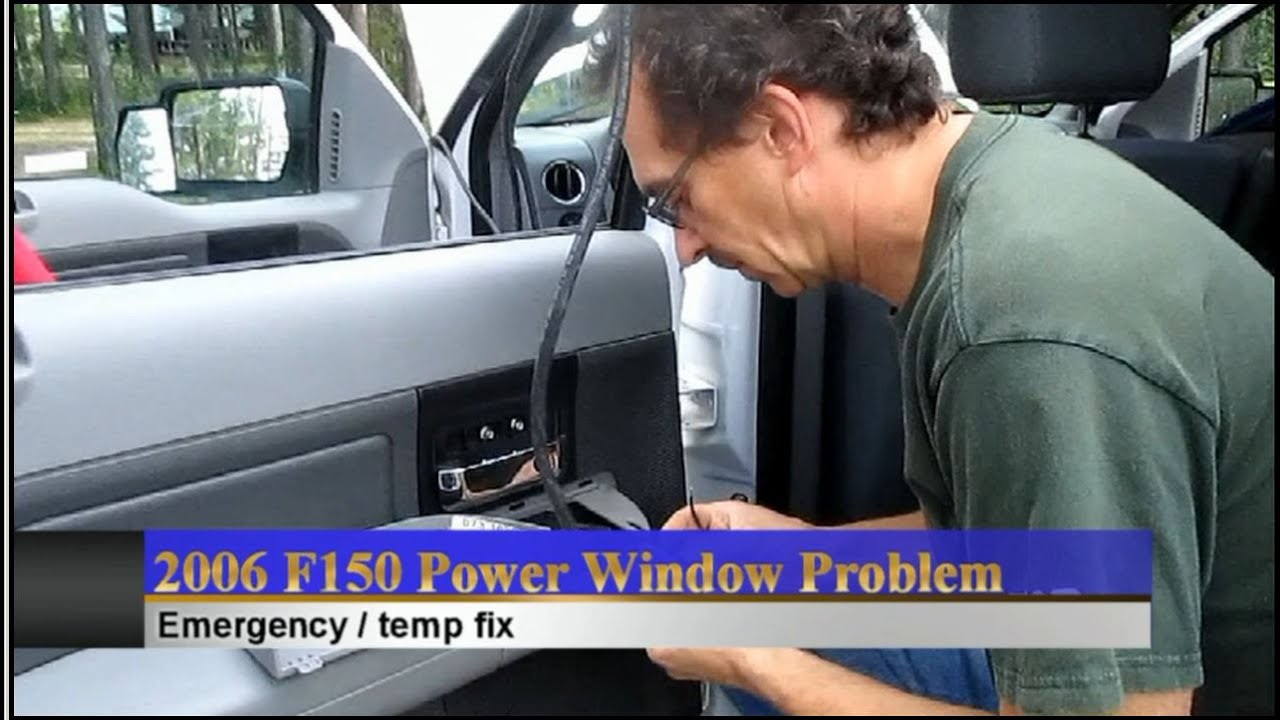 F150 Power Windows Emergency Roll Up Youtube Garage Door Motor Wiring Diagram