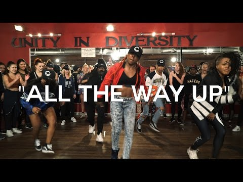 Thumbnail: All The Way Up – Fat Joe, Remy Ma, French Montana – choreography by @_triciamiranda |Spon. by Hobnob