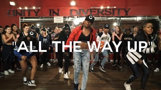 All The Way Up - Fat Joe, Remy Ma, French Montana - choreography by @_triciamiranda |Spon. by Hobnob