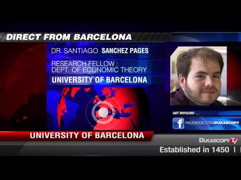 University of Barcelona on Spain Unemployment Rate