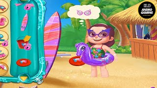 SUMMER VACATION ON BEACH !! Fun At The Beach With Beloved Family   ELD ANDRO GAMING CHANNEL