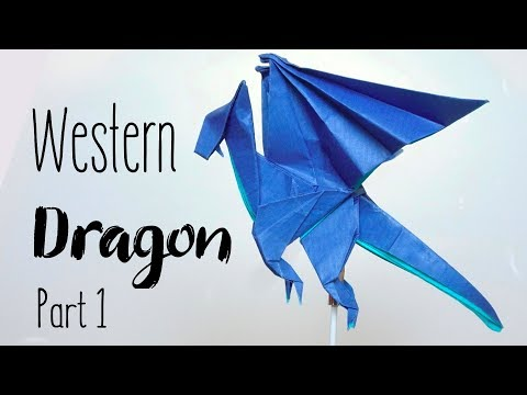 ORIGAMI WESTERN DRAGON v.1 (Anh Dao) | Part 1/2