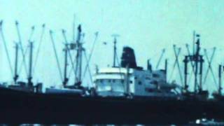 long beach harbor back in the late 50s