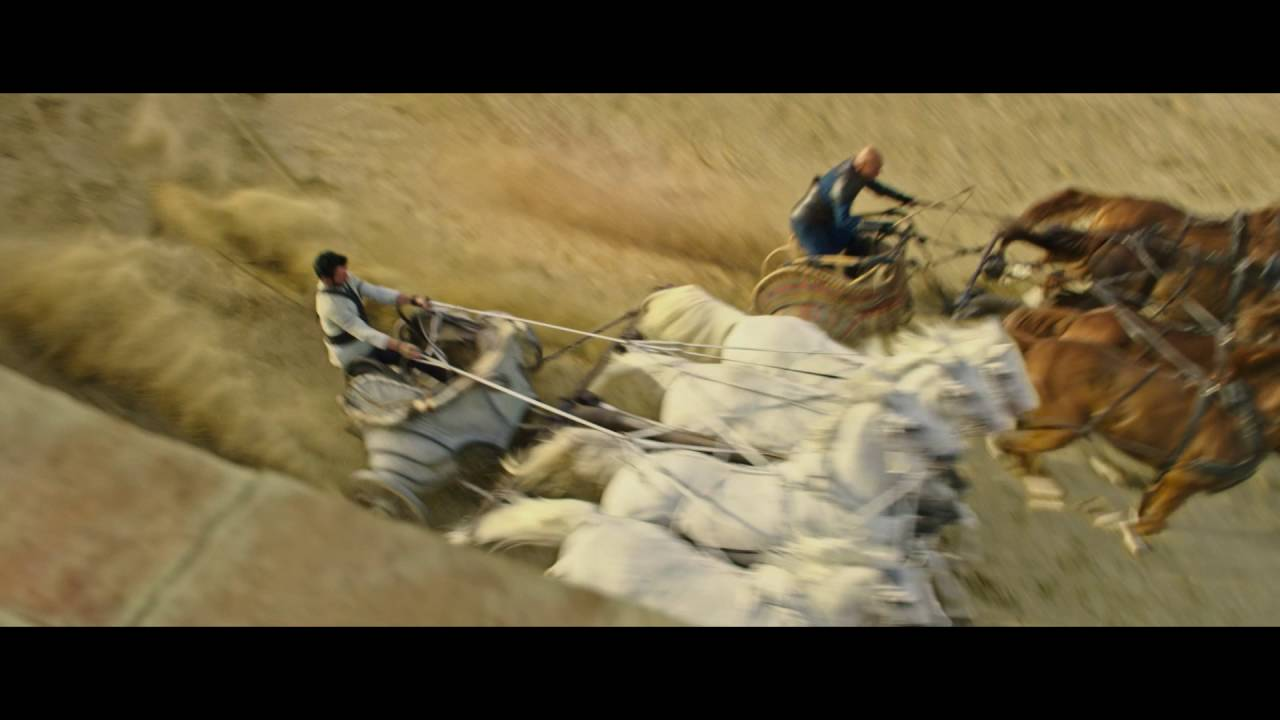 "BEN HUR | Clip: ""Das Wagenrennen"" | DE"