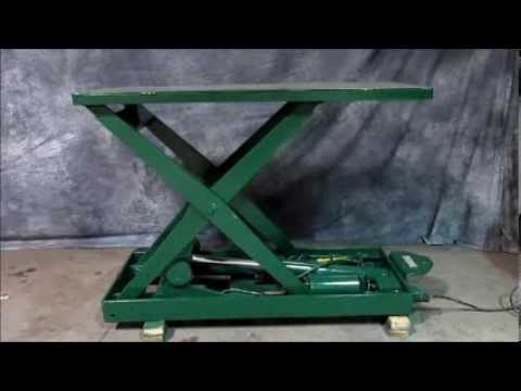 For Sale Southworth Hydraulic Scissor Lift Table 2 000