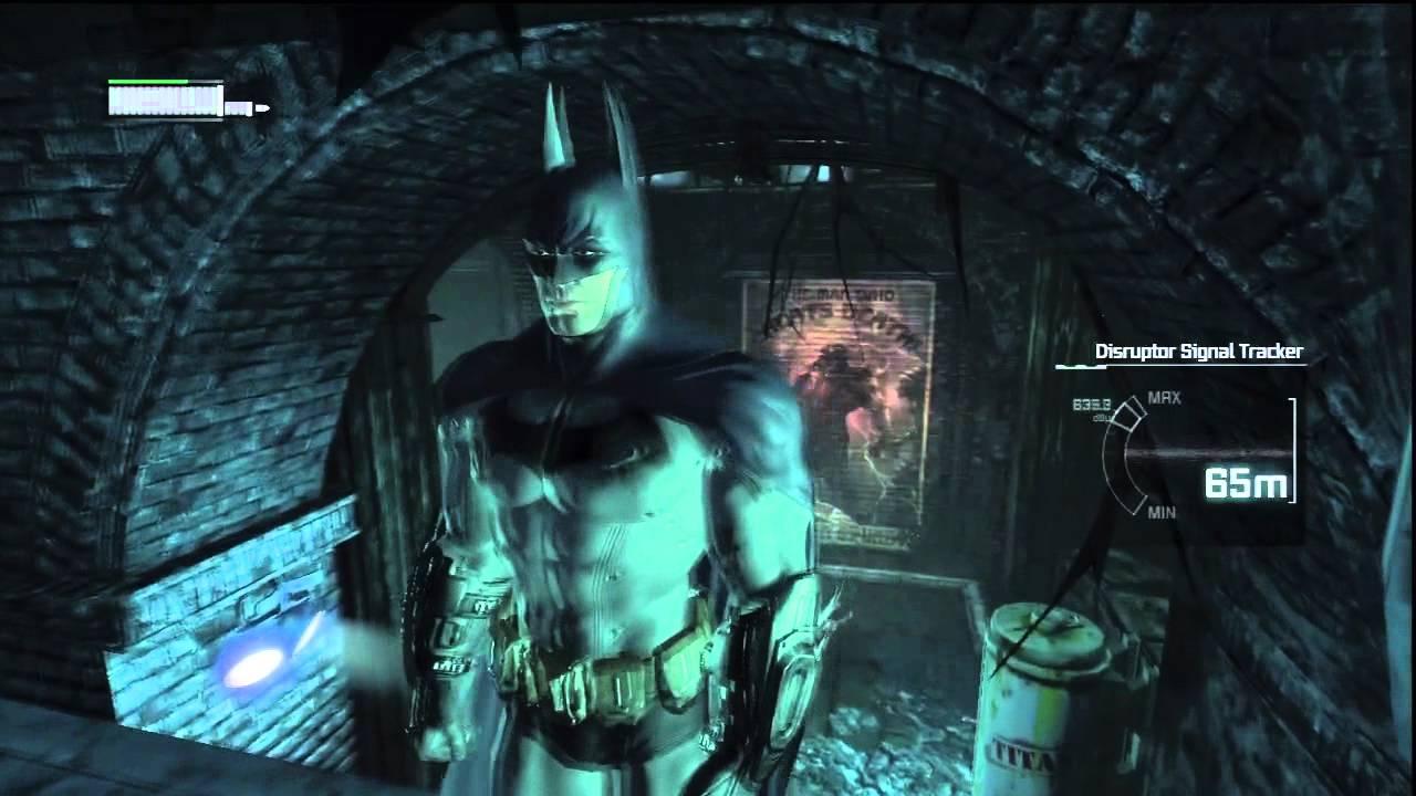Batman: Arkham City PART 9 Train Station Gameplay ...
