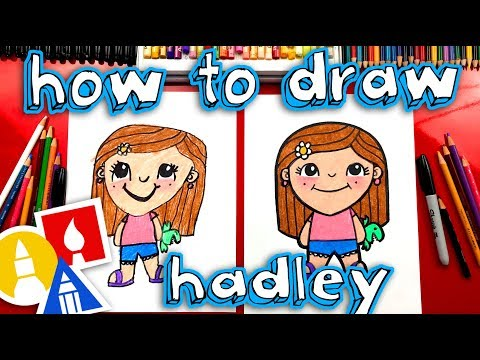 How To Draw Hadley From Art For Kids Hub