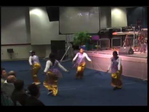 Praise Prophetic Dance Ministry Guyana Caribbean Worship Institute 2007