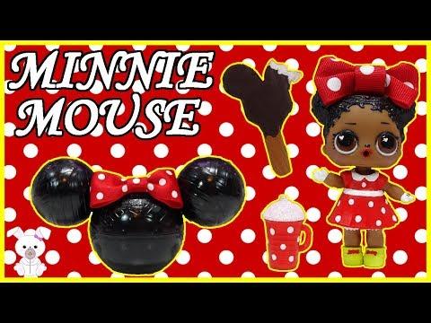 Minnie Mouse Lol Surprise Custom Doll Sugarbunnyhops Custom Doll