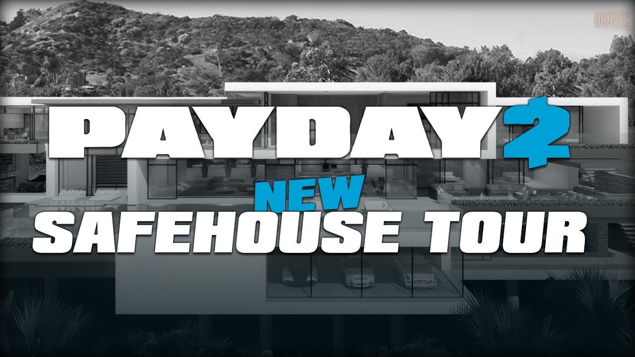 Payday 2 new safehouse tour customizable safehouse youtube malvernweather Images