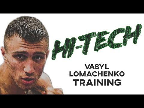 Vasyl Lomachenko HI-TECH Training