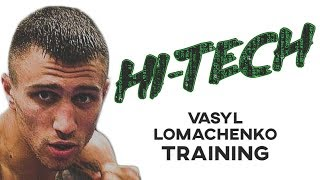 Vasyl Lomachenko HI-TECH Training