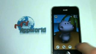 iPhone u. iPod Touch App - Talking Hippo - Review