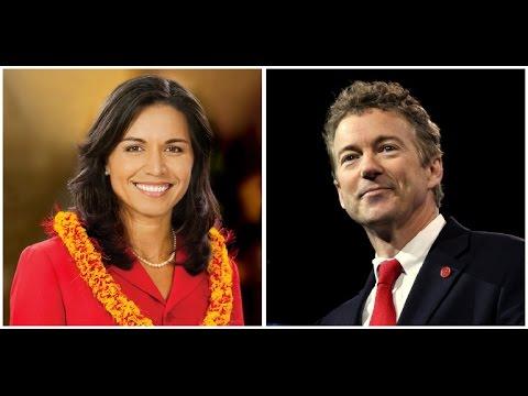 Rand Paul And Tulsi Gabbard Unite For Most Important Act Of 2017