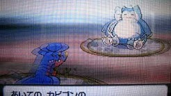 Pokemon Platinum Version- Rival Battle with Barry