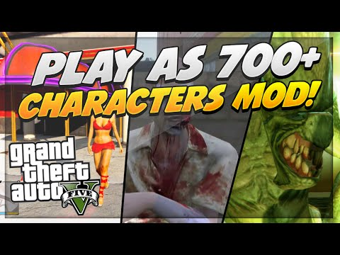 """GTA 5 Mods: How To Mod Your Character On GTA 5 (USB Mod) """"700+ Modded Characters"""""""