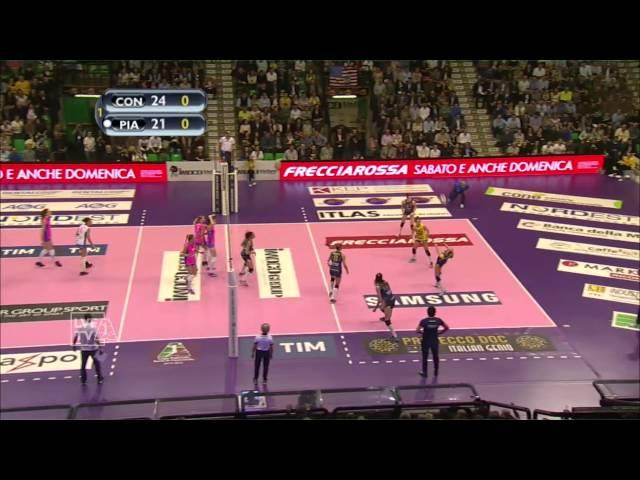 #videoemozioni. Imoco Volley Conegliano Campione d'Italia 2016. #highlights