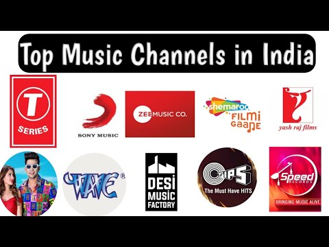 Most Subscribed Music Channels Top Music Company In India Top Music Channels On Youtube 2020 Youtube