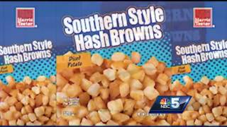 Golf balls in the hash browns?