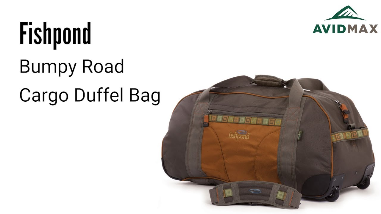 d654f757b8f1 Fishpond Bumpy Road Cargo Duffel Bag Review