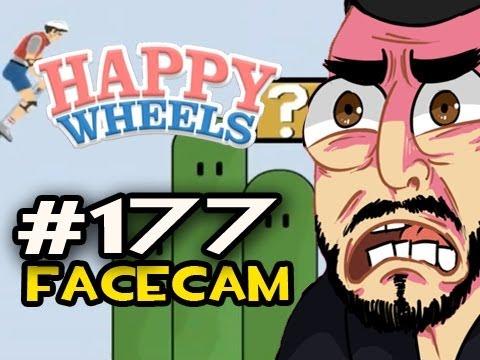 Happy Wheels W Nova Ep 177 Facecam Retro Game Levels